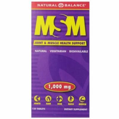 Natural Balance Msm Tablets, 120 CT