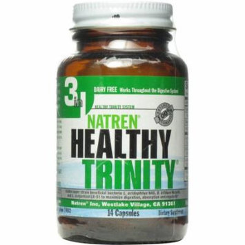 Natren Healthy Trinity Capsules, 14 CT