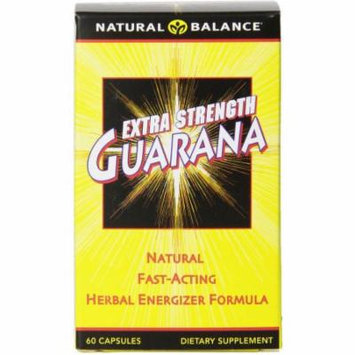 Natural Balance Extra Strength Guarana, 60 CT
