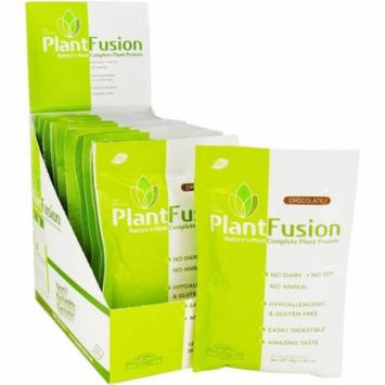 Plantfusion Nature's Most Complete Plant Protein Chocolate, 12 CT