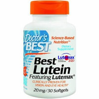 Doctor's Best Lutein, 30 CT