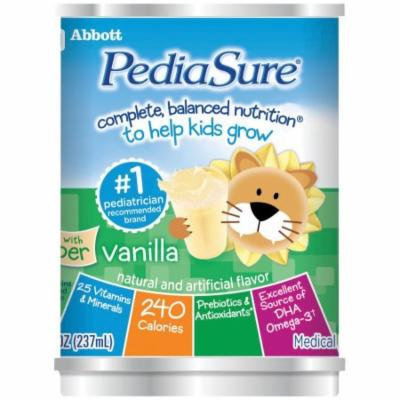 PediaSure Ready-to-Drink Vanilla Institutional 8Oz Can, Pack of 24