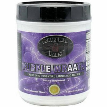 Controlled Labs Purple Wraath, Purple Lemonade Flavor, 2.44 LB
