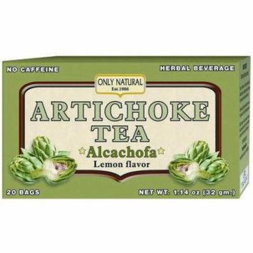 Only Natural Diuretic Artichoke Tea, 20 CT