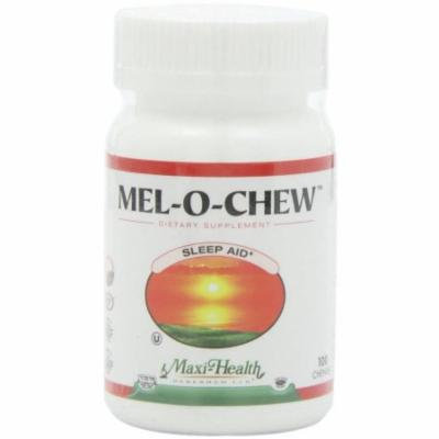 Maxi-Health Mel-O-Chew, Sleep Aid, Kosher, 100 CT