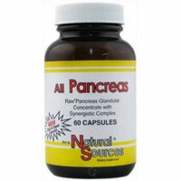 Natural Sources All Pancreas Capsules, 60 CT