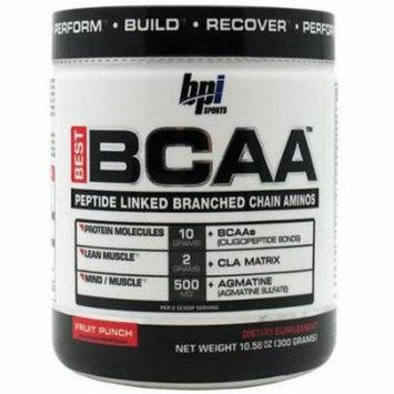 BPI Best BCAA, Fruit Punch, 30 CT
