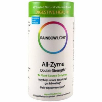 Rainbow Light All Zyme Double Strength Vegetarian Capsule, 180 CT