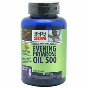 Health From The Sun Evening Primrose Oil 500 Milligrams, 180 CT