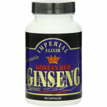 Imperial Elixir Korean Red Ginseng, 100 CT