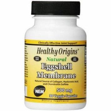 Healthy Origins Eggshell Membrane, 500 mg, Veggie Capsules, 30 CT