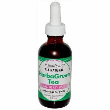 Herbasway Herbagreen Tea Raspberry Lime, 2 OZ