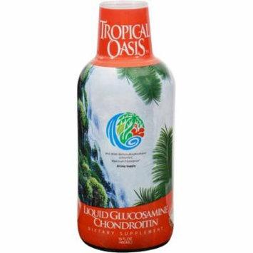 Tropical Oasis Liquid Glucosamine Chondroitin With Vitamin C For Maximum Absorption, 16 FL OZ