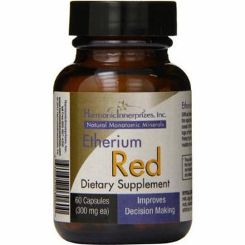 Harmonic Innerprizes Etherium Red Caps, 60 CT