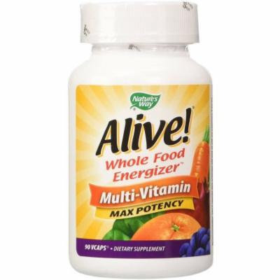 Nature's Way Alive Max Potency Multi-Vitamin with Iron Capsules, 90 CT