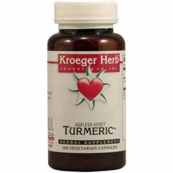 Kroeger Herb Turmeric Capsules, 100 CT