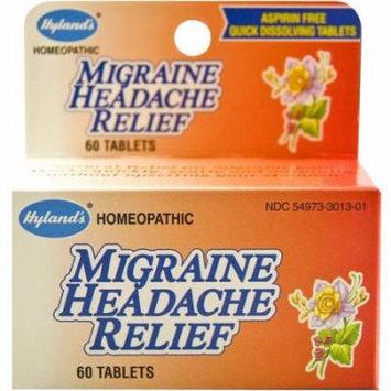 Hylands Migraine Headache Relief Tabs, 60 CT