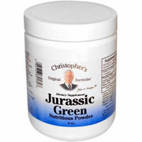 Christopher's Original Formulas Jurassic Green Powder, 4 OZ
