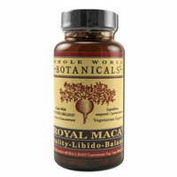 Whole World Botanicals - Botanicals Herbs, Royal Maca Vitality-Libido Balance 60 ct v cap
