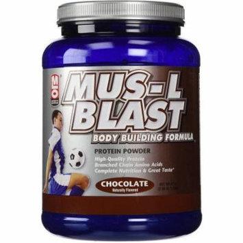 MLO Mus-L-Blast, Body Building Formula, Chocolate, 47 OZ