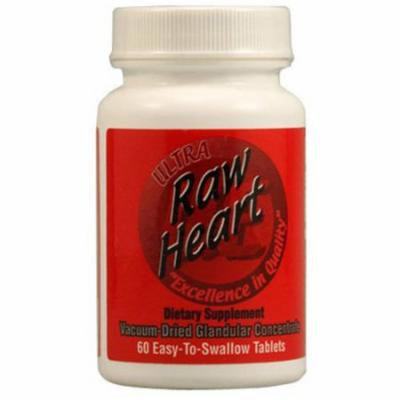 Ultra Glandulars Raw Heart, 60 CT