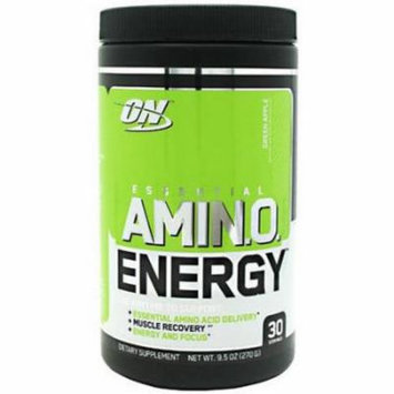 Optimum Nutrition Essential Amino Energy, Green Apple, 30 CT