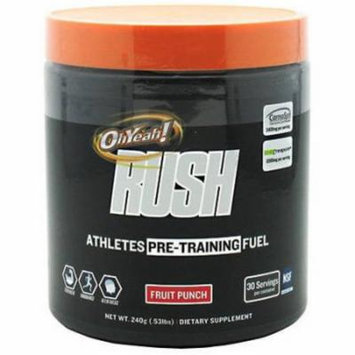 ISS Oh Yeah Rush, Fruit Punch, 240 GM