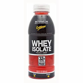 CytoSport Whey Isolate RTD, Watermelon, 12 CT