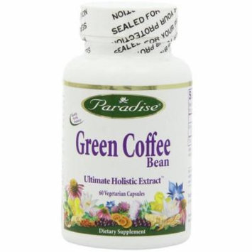 Paradise Herbs Green Coffee Bean Ultimate Holistic Extract, 60 CT