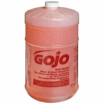 GOJO 9155-04 Spa Bath Body and Hair Shampoo, 1 Gallon (Case of 4)