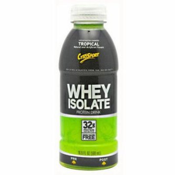 CytoSport Whey Isolate RTD, Tropical, 12 CT