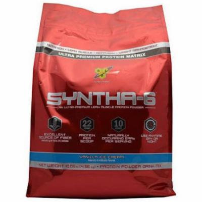 BSN Syntha-6, Vanilla Ice Cream, 10 LB