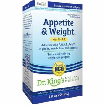 King Bio Appetite and Weight with P.H.A.T, 2 OZ