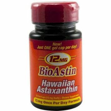Nutrex Hawaii Bioastin Hawaiian Astaxanthin Capsules, 25 CT