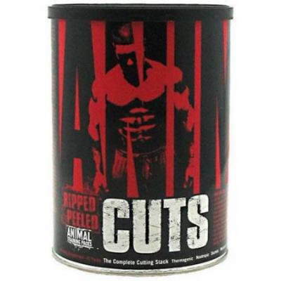 Universal Nutrition Animal Cuts, Ripped and Peeled Animal Training Pack, 42 CT