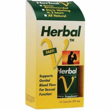 Lane Labs Herbal-V Dietary Supplement Capsules, 10 CT