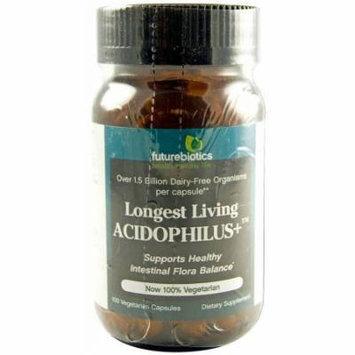 Futurebiotics Longest Living Acidophilus Plus Capsules, 100 CT