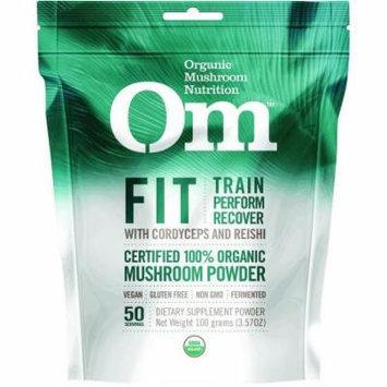 Mushroom Matrix Fit Powder Drink Mix, Organic, 3.57 OZ