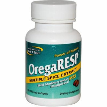 North American Herb & Spice Oregaresp P73 Gel-Capsules, 60 CT