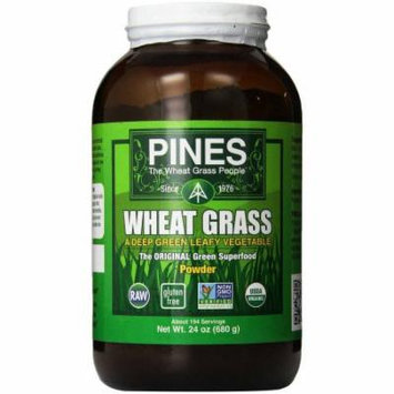 Pines International Pines Wheat Grass Powder Organic, 24 OZ