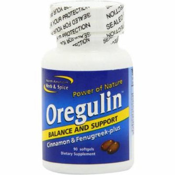 North American Herb & Spice Oregulin Soft Gel Capsules, 90 CT