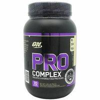 Optimum Nutrition Pro Complex, Creamy Vanilla, 1.68 LB