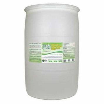 SIMPLE GREEN 1580100103055 Liquid Laundry Detergent,Drum,55 gal. G3728089