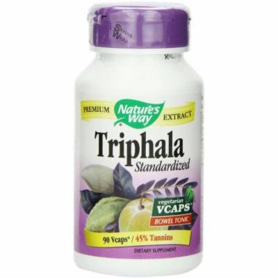 Nature's Way Standardized Herbal Extracts Triphala, 90 CT
