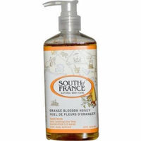 South Of France Natural Body Care, Hand Wash with Soothing Aloe Vera Orange Blossom, 8 FL OZ (Pack of 3)