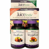 Natrol JuiceFestiv Dietary Supplement Capsules, 60+60