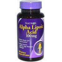 Natrol Alpha Lipoic Acid Caplets, 100 CT