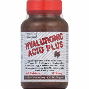 Only Natural Hyaluronic Acid Plus Tablets, 60 CT