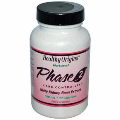 Healthy Origins Phase 2- white Kidney Bean Extract, 90 CT