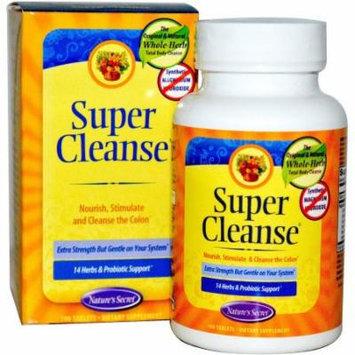 Nature's Secret Super Cleanse Tablets, 100 CT